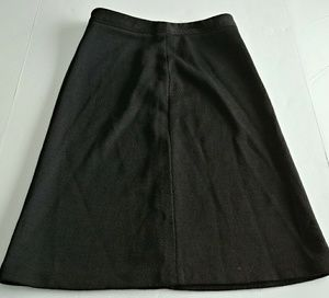 Banana Republic Black Midi Skirt